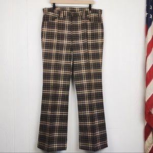 Vintage Levi's RARE Plaid Big E Gentleman's Jeans